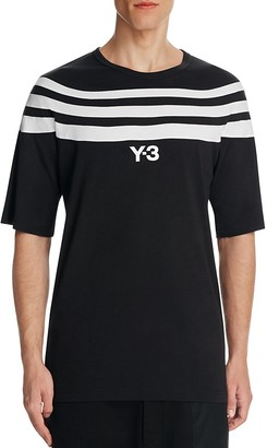 Y-3 Three Stripes Crewneck Tee $150 thestylecure.com