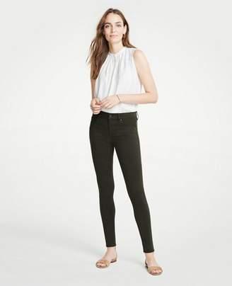 Ann Taylor Modern Skinny Jeans in Sateen