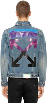 Off-White Gradient Arrows Denim Jacket