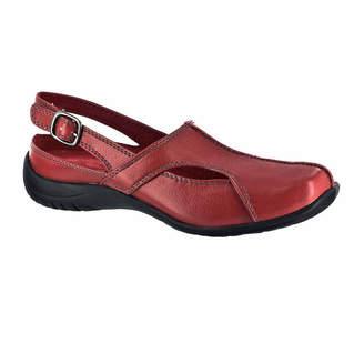 Easy Street Shoes Womens Sportser Pumps Buckle Square Toe Flat Heel