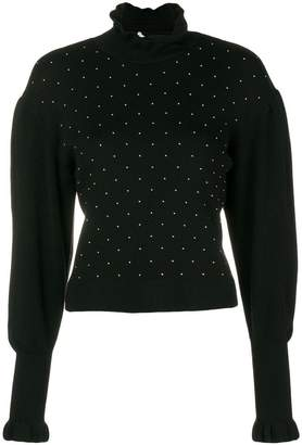 Philosophy di Lorenzo Serafini studded sweater