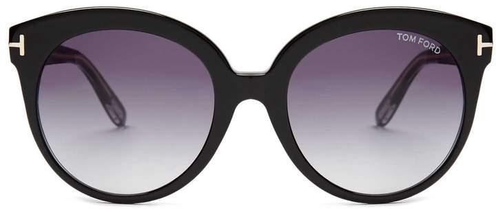 Tom FordTOM FORD EYEWEAR Monica acetate sunglasses