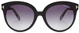 Tom Ford Monica acetate sunglasses