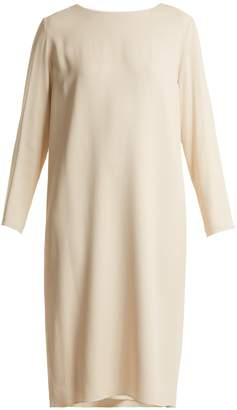 The Row Larina crepe tunic dress