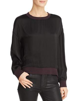 Nation Ltd. Shay Drop-Shoulder Sweatshirt