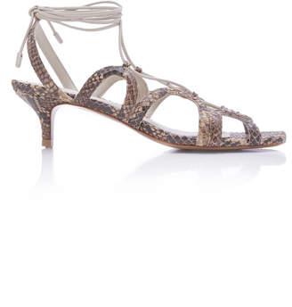 d951a806e6e Zimmermann Scallop Kitten Heel Sandals