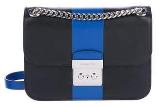 Michael Kors Center Stripe Crossbody Bag