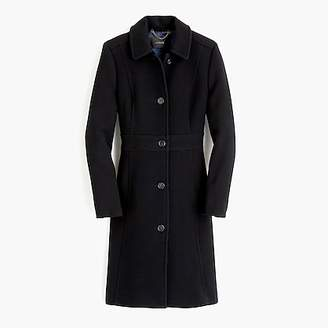 J.Crew Italian double-cloth wool lady day coat with Thinsulateu0026reg;
