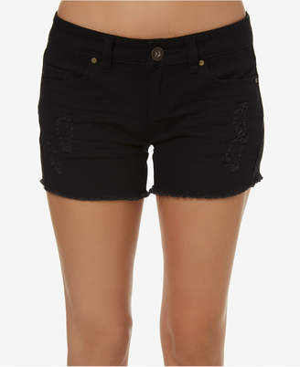 O'Neill Juniors' Scout Ripped Denim Shorts