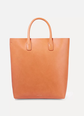 Mansur Gavriel Leather Tote - Beige