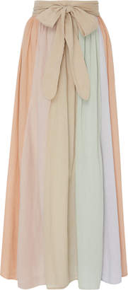 Mara Hoffman Katrine Pleated Cotton Skirt
