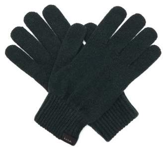 Paul Smith Cashmere Blend Gloves - Mens - Green
