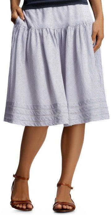 The summer striped skirt