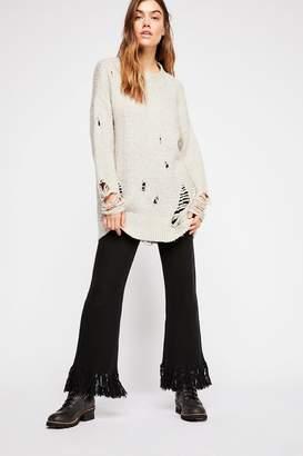 Fringe Forever Cashmere Trouser