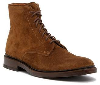 Frye Jones Lace-Up Suede Boot