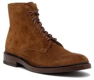 Frye Jones Lace-Up Suede Boot
