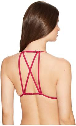 Billabong Sol Searcher Strappy Triangle Bikini Top Women's Swimwear