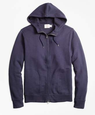 French Terry Full-Zip Hoodie $79.50 thestylecure.com