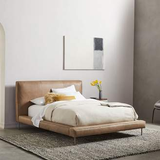 west elm Pierce Leather Bed