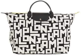 Longchamp Monogram Printed Travel Bag