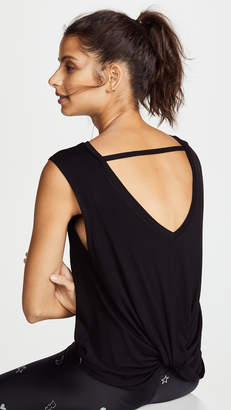 Terez Twist Back Tank Top