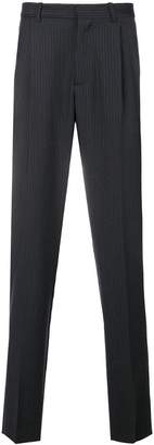 Chalayan pionstripe carrot trousers