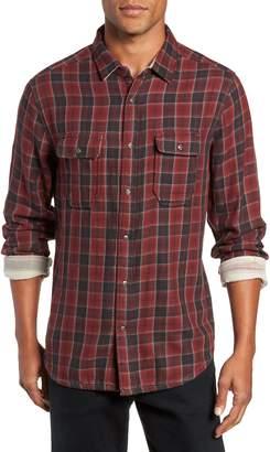 Jeremiah Boulder Regular Fit Reversible Plaid Shirt