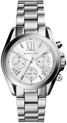 Michael Kors Women's Chronograph Mini Bradshaw Stainless Steel Bracelet Watch 36mm MK6174 $250 thestylecure.com