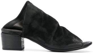 Marsèll soft peep toe mules