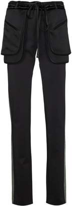 Valentino side stripe trousers