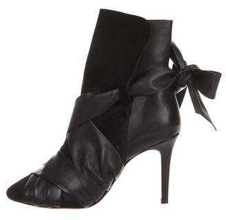 Isabel Marant Leather Lace-Up Booties