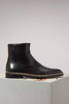 Lanvin Chain ankle boots
