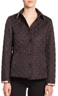 Burberry Ashurst Diamond-Quilted Jacket