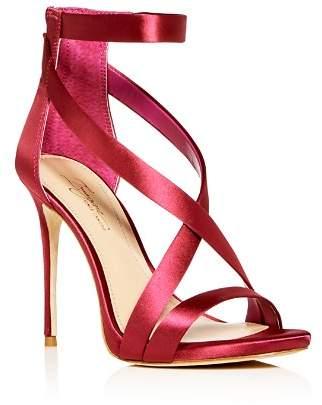 Vince Camuto Imagine Women's Devin Satin Ankle Strap High-Heel Sandals
