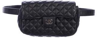 Chanel Uniform Quilted Waist Bag