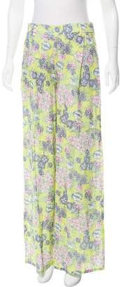 Christophe Sauvat French Garden High-Rise Pants