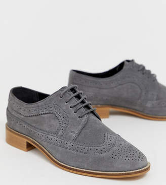 Asos Design DESIGN Mai Tai leather brogues