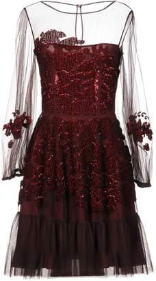 Anna Molinari BLUMARINE Short dresses - Item 34857443FN