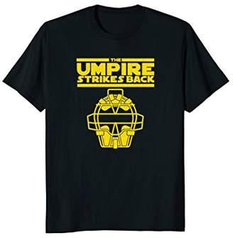 Mens The Umpire Strikes Back Funny Baseball T-Shirt