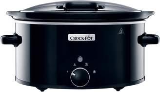 Crock Pot 5.7L Slow Cooker, Black