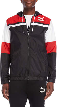 Puma Color Block Hooded Jacket
