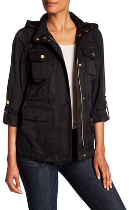 Vince Camuto Roll Sleeve Anorak $195 thestylecure.com