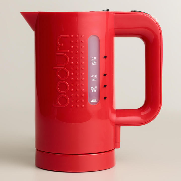 Bodum Red Bistro Electric Water Kettle