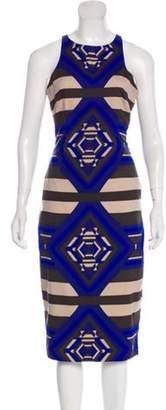 Mara Hoffman Sleeveless Midi Dress Blue Sleeveless Midi Dress