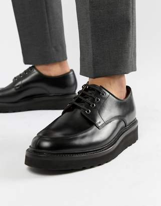 Grenson Barnett lace up shoes in black leather