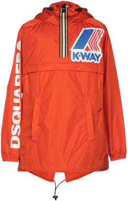 DSQUARED2 x K-WAY Overcoats