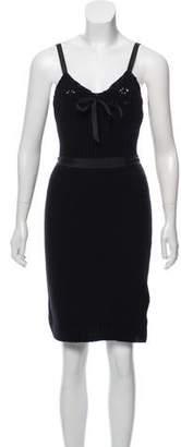 Nina Ricci Wool & Cashmere-Blend Dress w/ Tags