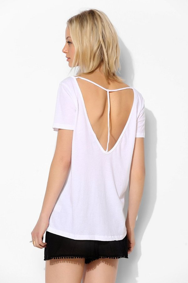 Truly Madly Deeply Strap-Back Tee