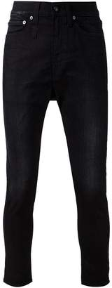 R 13 drop-crotch skinny jeans