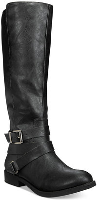 Style & Co. Lolah Wide Calf Boots, Only at Macy's $69.50 thestylecure.com